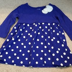 Royal blue oshkosh bgosh dress